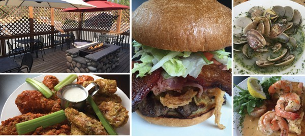 Visitors will find a wide assortment of burgers and other comfort foods at The Wallow Bar & Grill in Sunriver.