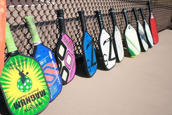 RACQUETS COME IN ALL SHAPES AND SIZES.