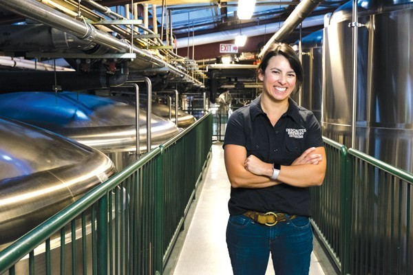 "Deschutes Brewery Brewmaster, Veronica Vega is ""proud to work for a company that invests so much in research."" - ERIK ELLINGSON"