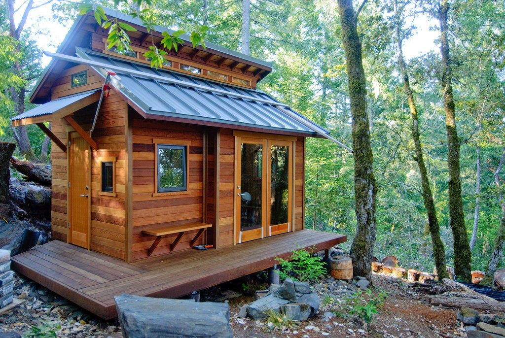 Click To Enlarge The Dream: Tiny Home And Cottage, All In One.   BEN CHUN |