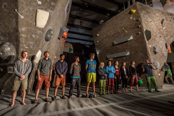 The Bend Boulder Bash brings together competitive climbers from around the area. - WILL BURKS