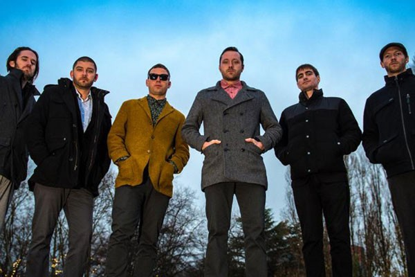 Don't let the brooding photo deter you; Monophonics brings the funky soul jams you love to Volcanic on 2/7. - SUBMITTED