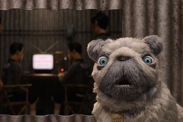 "Behold The Oracle, voiced by Tilda Swinton, in ""Isle of Dogs."" - FOX SEARCHLIGHT"