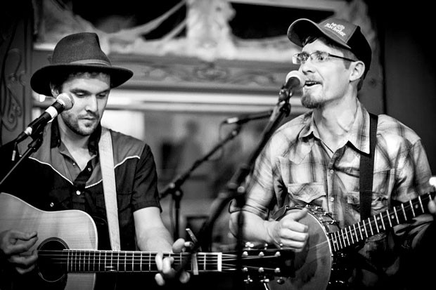 Join Joel Chadd and Dustin Byers as they perform their last gig as Trailer 31 at Dudley's Bookshop Cafe on 6/8. - SUBMITTED