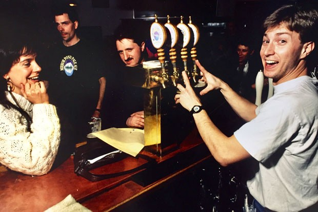 Thirty years ago, Deschutes' pub had a lot fewer taps. - DESCHUTES BREWERY.