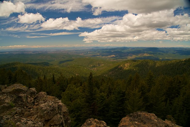 Top of Lookout Mountain, the highest peak in the Ochoco National Forest. - SUBMITTED