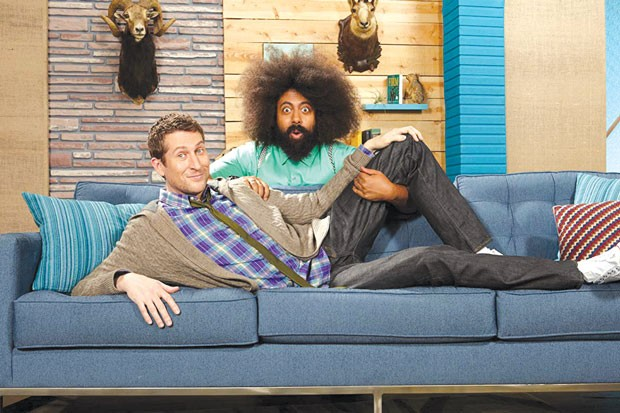 "Reggie and Scott are the cutest on ""Comedy Bang! Bang!"" - ROBYN VAN SWANK"
