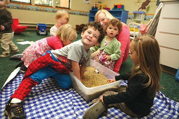 Interactive play at TFC creates strong bonds. - DINA BOSWELL