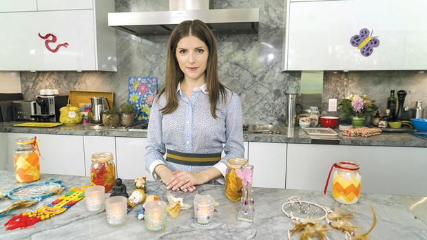 Why does Anna Kendrick look terrifying here? Am I just afraid of kitchens? - PHOTO COURTESY OF FOCUS