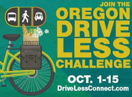 OREGON DRIVE LESS CHALLENGE