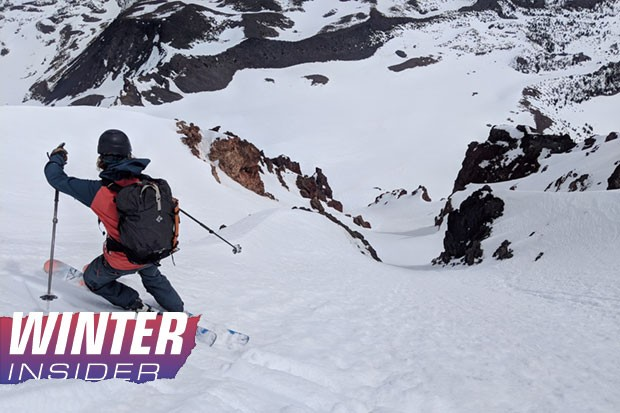 Alex Taran takes a selfie on Broken Top, one local option for backcountry fun. - ALEX TARAN