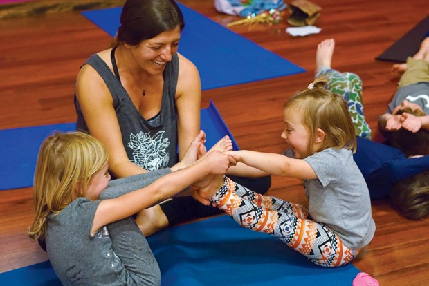 Kid's Yoga Party. - SUBMITTED