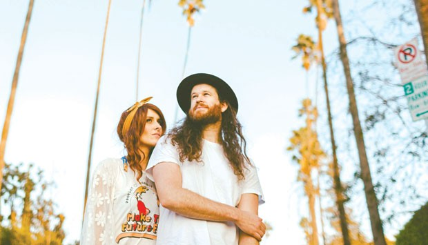 Fox and Bones plan to let their third album grow organically on the road. - SUBMITTED