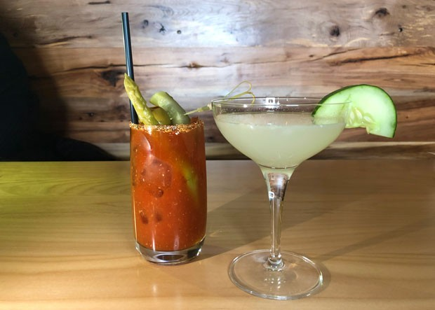 The scratch bloody and the Gompers gimlet were easy-to-drink, balanced cocktails. - LISA SIPE