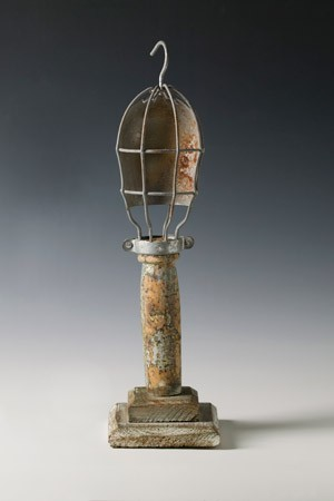 Found object sculpture by CL McMullen. - SUBMITTED
