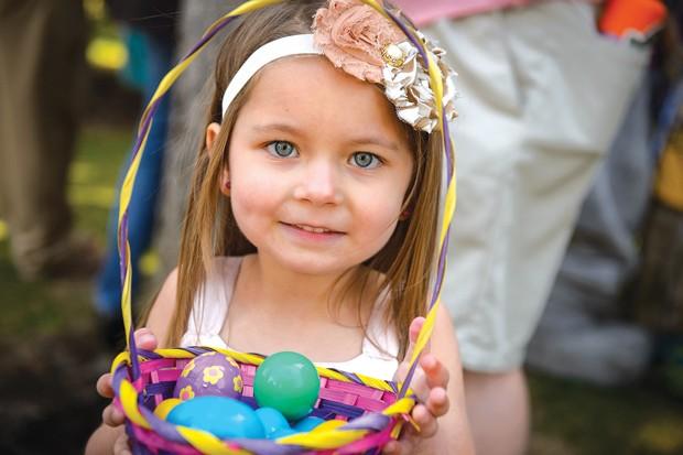 Sunriver Resort Easter Brunch and Egg Hunt April 21. - SUBMITTED
