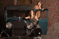 Cheers to Gallery Garage for the use of their 1928 Model A for this year's Roaring '20s-themed cover shoot!