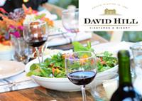 David Hill Wine Dinner