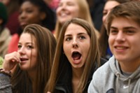 Students' jaws drop, including Bend High Student Grace Lickteig, when they learn that the Milken Educator Award also comes with a big check. One of their teachers is about to take home $25,000! Who will it be?a