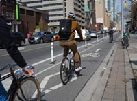Safe cycling in Toronto, Canada