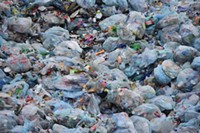 Billions of plastic bags are used in the U.S. annually.