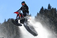 Darrin Mees of Redmond placed 4th in the recent 2019 X Games, competing in the growing sport of snowbiking.