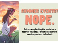 Summer Events? Nope.
