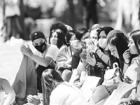 Demonstration Against ICE at Drake Park