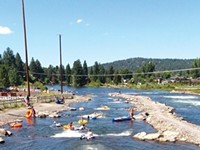 Sign of Spring: Bend's Whitewater Park opening again