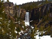 Road to Tumalo Falls is Open