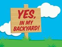 Yes, In My Backyard