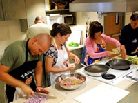 Cooking Classes at Rainshadow Organics