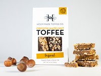 New Look for Holm Made Toffee