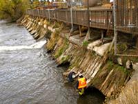 Newport Avenue Dam Has Sprung a Leak