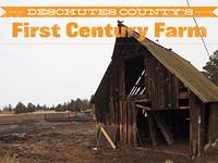 Deschutes County's First Century Farm