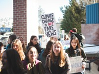 Scenes from the Youth Climate Strike