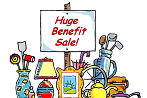 Benefit Yard Sale for Genealogical Society