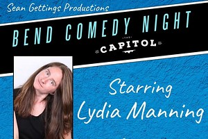 Comedy night with Lydia Manning