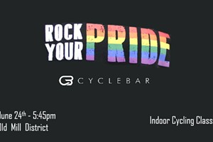 Rock Your Pride Ride - Cyclebar