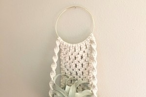 More Macrame: Air plant edition