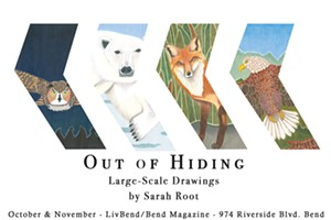 Out of Hiding Art Exhibit
