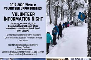 Volunteer Information Night: Deschutes National Forest