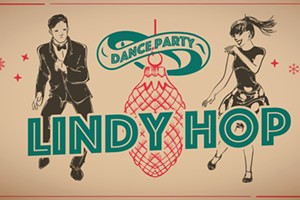 Lindy Hop Christmas Dance