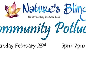 Nature's Bling Community Potluck & Mingle