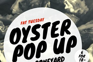 Fat Tuesday Oyster Pop Up