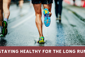 Live Webinar - Staying Healthy For The Long Run