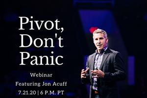 Pivot…Don't Panic! with Jon Acuff