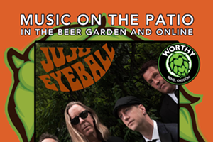 Worthy Brewing Music On The Patio with JuJu Eyeball