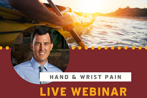 Hand & Wrist Aches, Pains & Nagging Discomforts