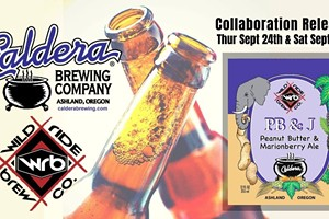 Caldera Brewing and Wild Ride Brewing Collaboration Beer Release Party at Midtown Yacht Club!